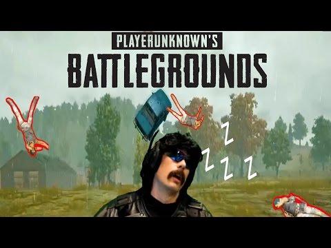Dr DisRespect Battlegrounds Highlights ( The Gillette Song, $1111 Donation!, Doc Falls Asleep)