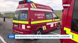 Trei nemțeni au murit într-un accident rutier, la Lețcani