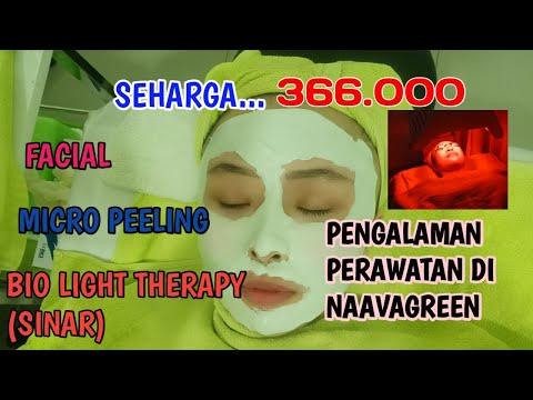 REVIEW NAAVAGREEN SKINCARE MURAH TAPI....- Micro peeling | Bio Light Therapy |