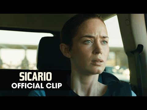 "Sicario (2015 Movie - Emily Blunt) Official Clip – ""Bridge"""