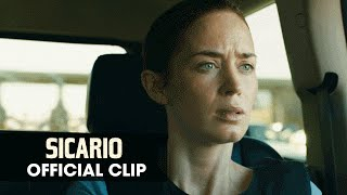 "Sicario (2015 Movie - Emily Blunt) Official Clip – ""Bridge"""