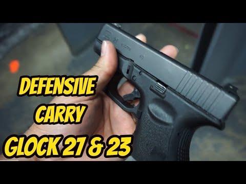 Glock 23 & Glock 27  Defensive Carry