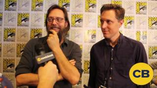 Powerless Ben Queen and Michael Patrick Jann - SDCC 2016