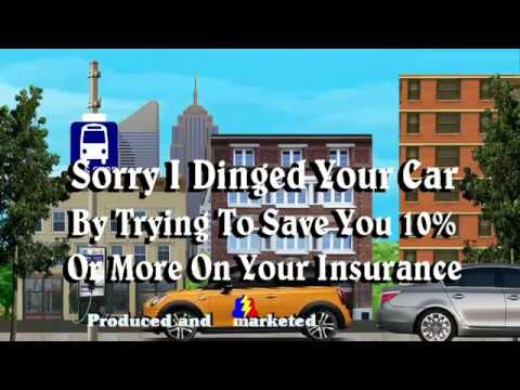Sorry I Dinged Your Car Trying To Save You 10% Or More On Your Car Insurance