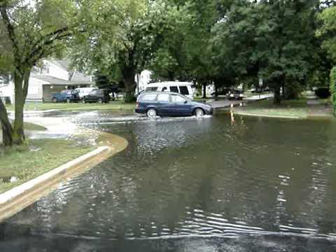 2010 Flood Bensenville IL Fenton