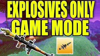 EXPLOSIVE ONLY MODE | FORTNITE FRIDAY ( BATTLE ROYALE) | BEST PLAYER IN THE WORLD | LIVESTREAM