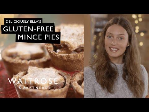 Deliciously Ella Christmas – Gluten-free Mince Pies | Waitrose & Partners