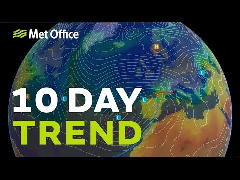 10 Day Trend - How long will this exceptional cold spell last?