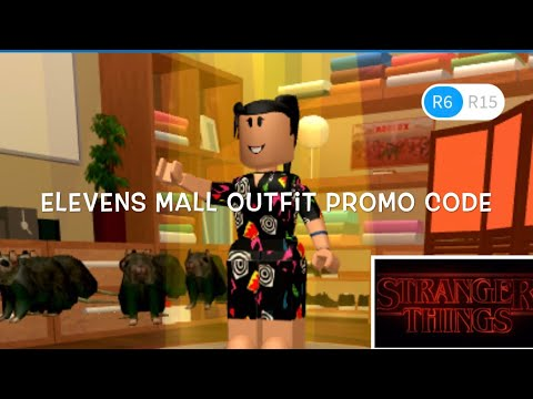 eleven s mall outfit roblox New Elevens Mall Outfit Roblox Stranger Things Promo Code Youtube