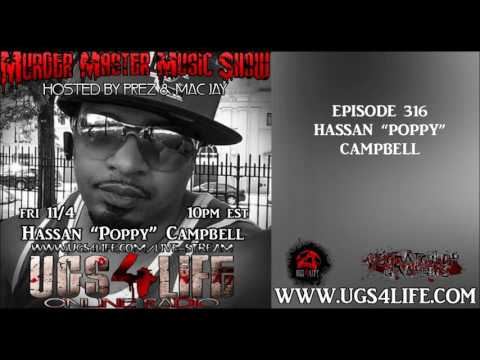 EP. 316 HASSAN POPPY CAMPBELL COMPLETE INTERVIEW