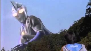 Ultraman Agul vs Algyuros (Fake Agul)