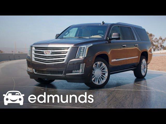 Does the 2018 Cadillac Escalade ESV Still Impress? | Review | Edmunds