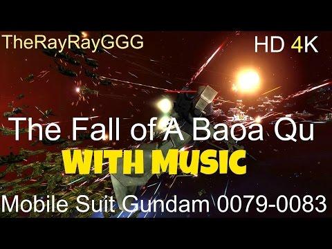 HW2R Gundam The Fall of A Baoa Qu 2.1/With Music HD 4K