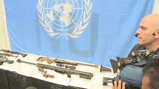 FARC entregan totalidad de armas a la ONU