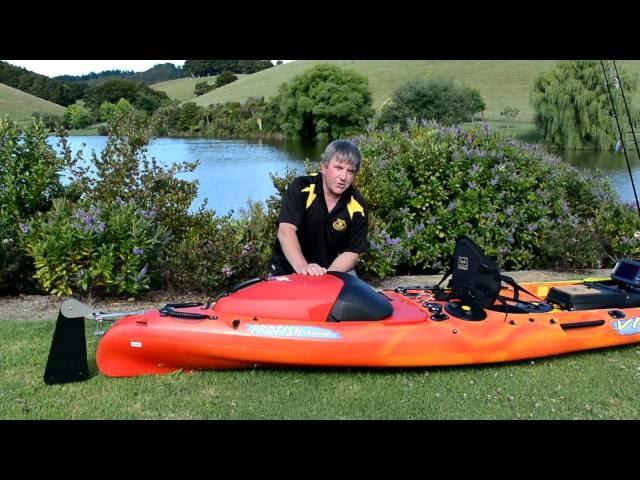 Viking Kayaks Profish Reload   Feature video
