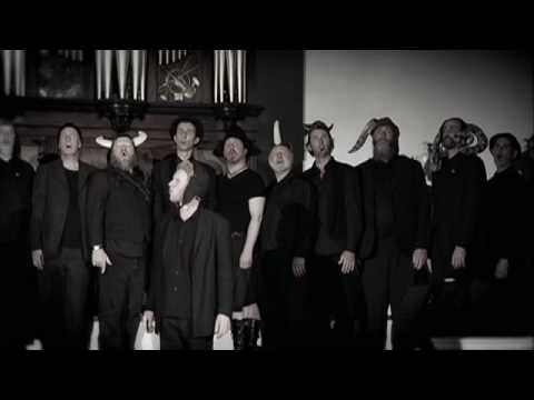 Simple Swedish Folk Song - The Spooky Men's Chorale