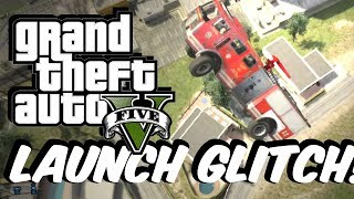 GTA 5 Online Car Launch GLITCH!