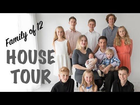 FAMILY Of 12 House TOUR | Australian Family Vlog