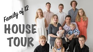FAMILY Of 12 House TOUR | Australian Family Vlog