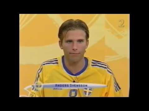 ANDERS SVENSSON - interview after argentina 2002
