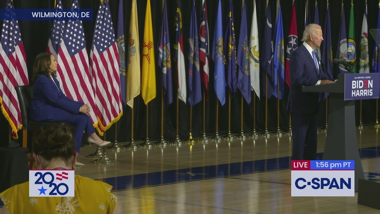 Joe Biden Introduces Sen. Kamala Harris (D-CA) As Running Mate
