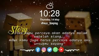 Download lagu dengarkan aku wahai sayangku  story wa  literasi 30 detik