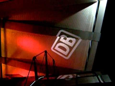 Berlin Hauptbahnhof Classics: Beleuchtung mit rotierendem DB-Logo, 2006
