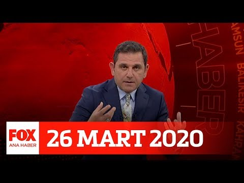 İkinci Dalga Korona... 26 Mart 2020 Fatih Portakal Ile FOX Ana Haber