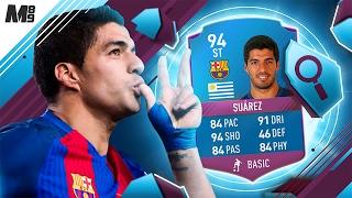 FIFA 17 SBC SUAREZ REVIEW | 94 SUAREZ | FIFA 17 ULTIMATE TEAM PLAYER REVIEW