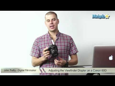 How to Adjust the Viewfinder Diopter on a Canon 60D DSLR