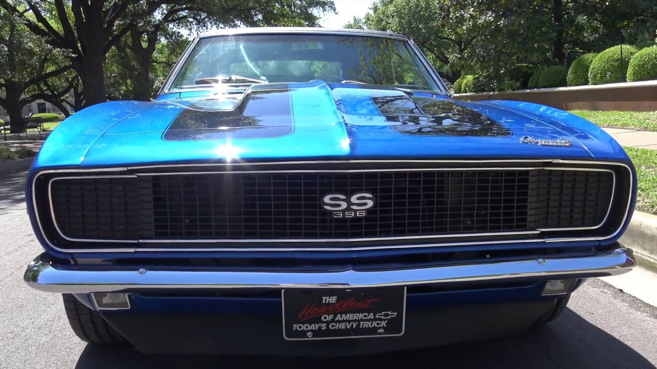 1967 Chevrolet Camaro RS/SS Big Block 4-Speed extended Dallas Texas test  drive & look