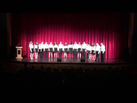Coral Glades High School Ensemble Choir 2015 Bruno Mars