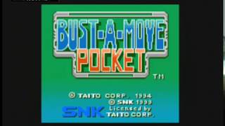Bust a Move Pocket (Puzzle Bobble Mini) - SNK Neo Geo Pocket Color - VGDB