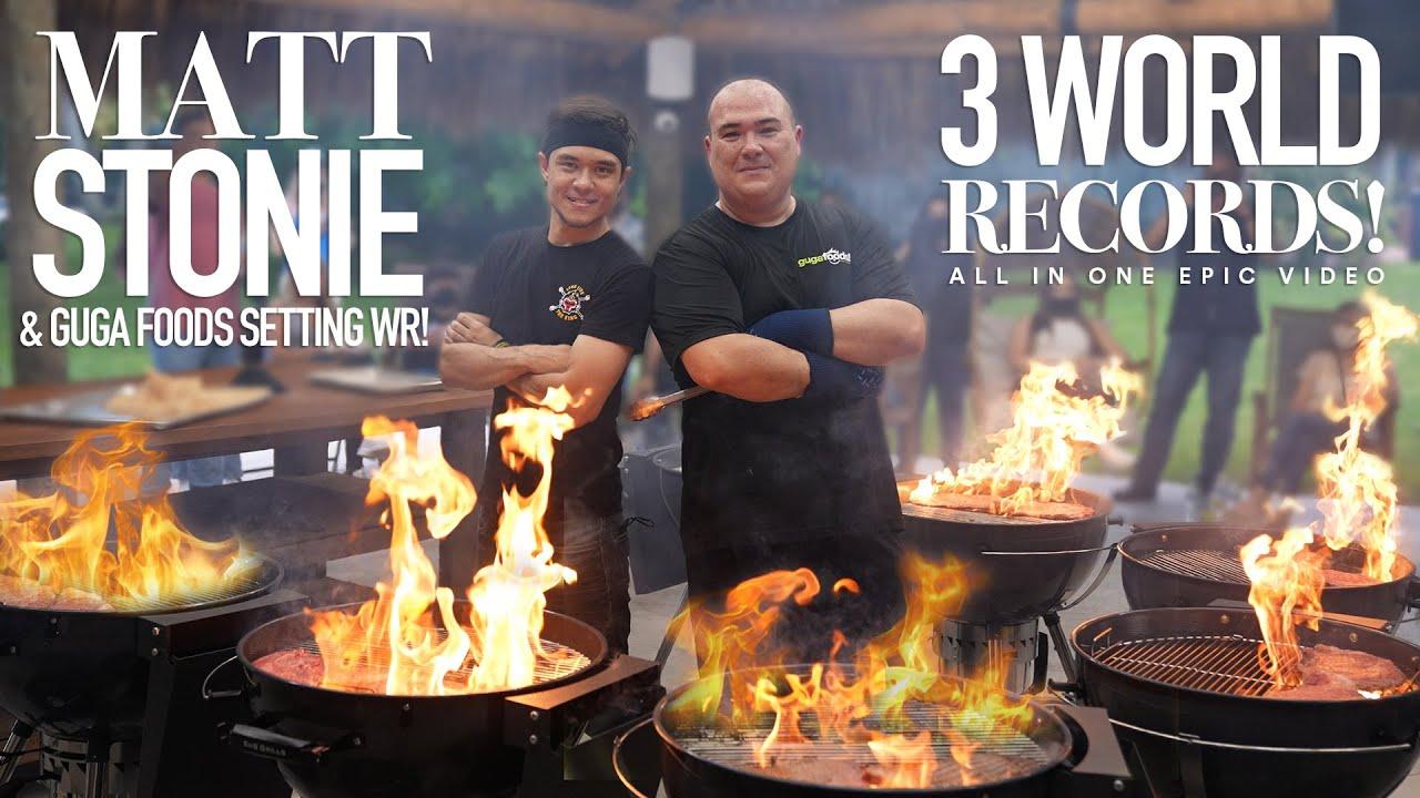 3 World Records of Olive Wagyu Steaks, Ft. Matt Stonie