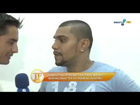 'A Gente Já Começou A Treinar', Diz Naldo Sobre Gravidez - TV Fama 07/04/2014