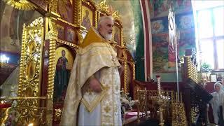 Проповедь Протоиерея Иоанна Клименко в день Преображения Господня 19082018