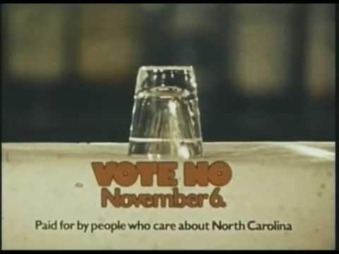 North Carolina Anti-Liquor By The Drink PSA (1978)
