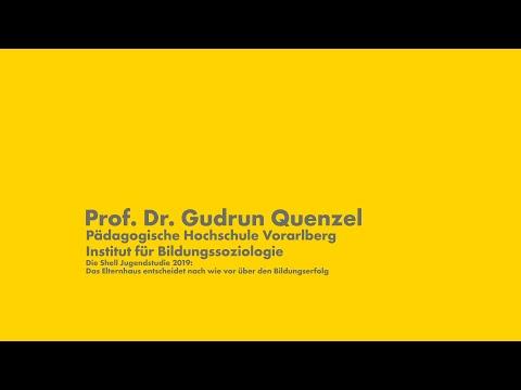 Shell Jugendstudie 2019: Prof. Gudrun Quenzel