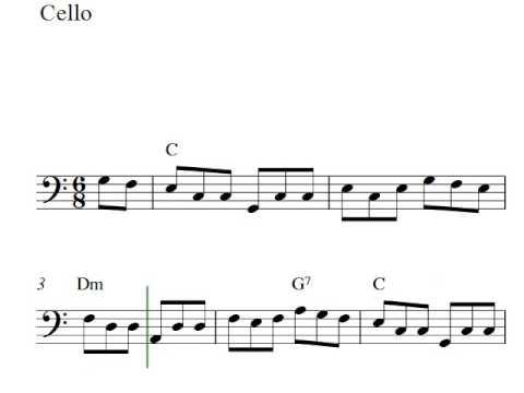 The Irish Washerwoman - Free easy cello sheet music