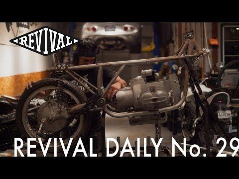 BMW Airhead Race Bike Build! // Revival Daily No. 29