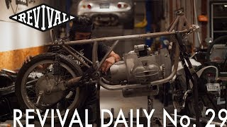 BMW Airhead Race Bike Build! // Revival Daily No. 29