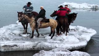 Horse Trail in Abashiri Hokkaido Japan Drift Ice Ver. -No Name Ranch-