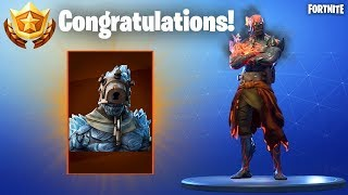 FORTNITE PRISONER SKIN STAGE 3 UBICACION CLAVE (FORTNITE SNOWFALL)