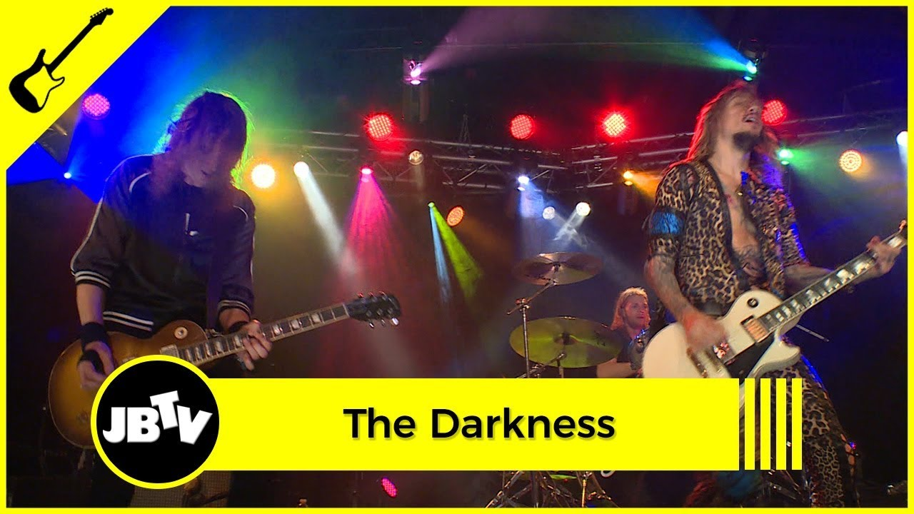 The Darkness Love Is Only A Feeling Live At Jbtv Youtube
