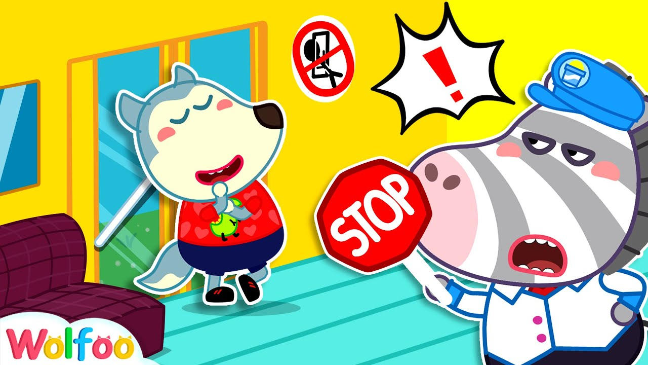 Don't Break the Bus Rules! Wolfoo Learns Safety Tips for Kids | Wolfoo Family Kids Cartoon