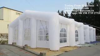 inflatable wedding tent, inflatable party tent, inflatable event tent