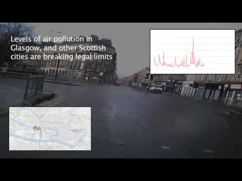Glasgow's Air Pollution - The cyclist's perspective