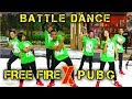 BATTLE DANCE - FREE FIRE X PUBG - JUST FOR FUN - CHOREOGRAPHY BY DIEGO TAKUPAZ