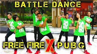 Download Video BATTLE DANCE - FREE FIRE X PUBG - JUST FOR FUN - CHOREOGRAPHY BY DIEGO TAKUPAZ MP3 3GP MP4