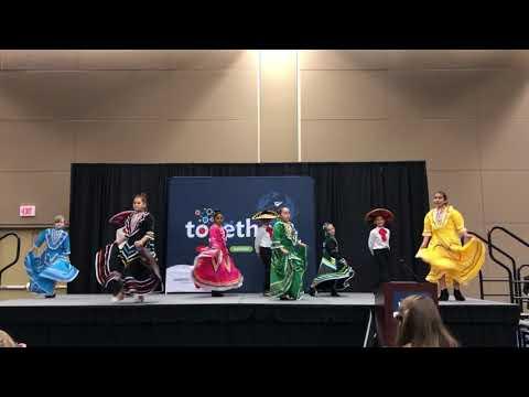 LDE Folklorico Group Dances to Jarabe Tapatio